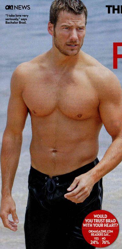Brad bachelor naked